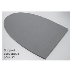 PLA538-MOUSSE SOUNDLESS PIED W30